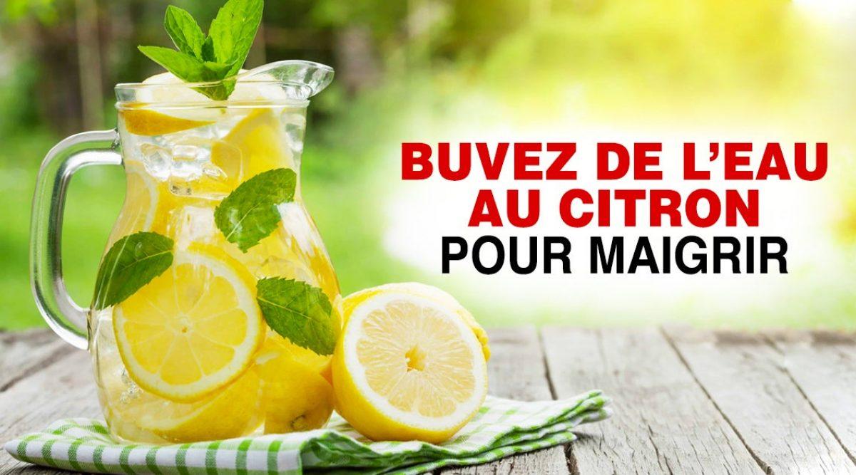 Perdre du poids : Voici le bon moment pour boire l'eau citronnée pour maigrir